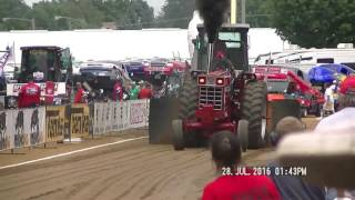 15,000LB OPEN FARM STOCK TRACTORS ELKHART COUNTY, INDIANA FAIR JULY 28,, 2016