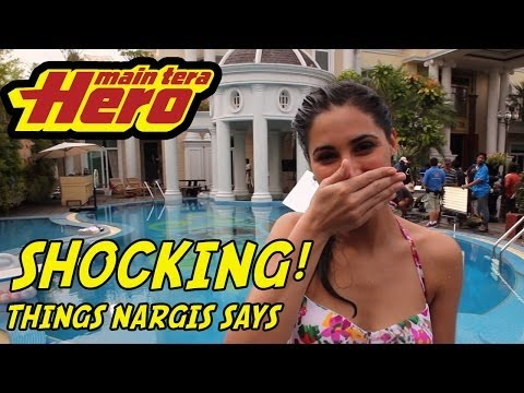 SHOCKING! Things Nargis Says...