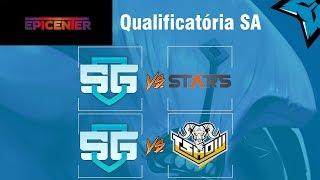 [PT-BR] SG vs STARS / SG vs TSHOW Epicenter SA qualify