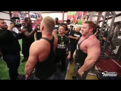 225 Bench Competition Bodybuilders Vs Football Players