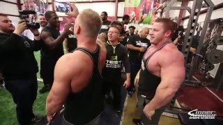 Download 225 Bench Competition Bodybuilders Vs. Football Players Mp3 and Videos