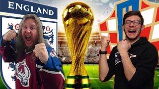 ENGLAND vs. KROATIEN - Highlights | Halbfinal | FIFA WM 2018 - PREDICTION [CH-DÜTSCH]