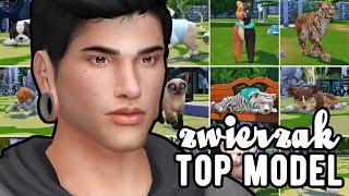 TOP MODEL ZWIERZAK  SESJE #1  The Sims 4