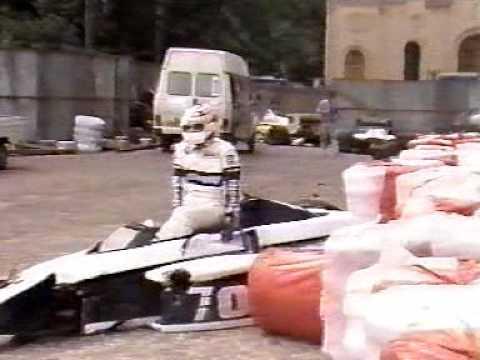 Riccardo Patrese vs Piquet Montecarlo Monaco GP F1 1985
