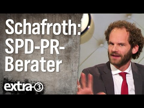 Maxi Schafroth - PR-Berater der SPD | extra 3 | NDR
