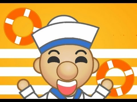 A Sailor Went To Sea | Family Sing Along - Muffin Songs