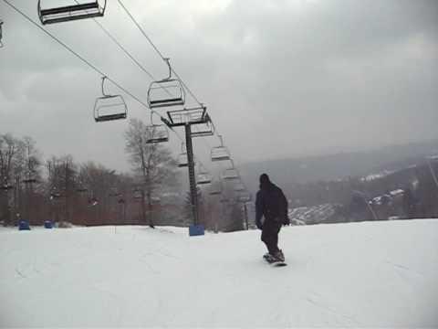 2008 December - Joe Antonelli First Run Down Okemo