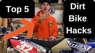 5 DIRT BIKE HACKS, TRICKS AND TIPS