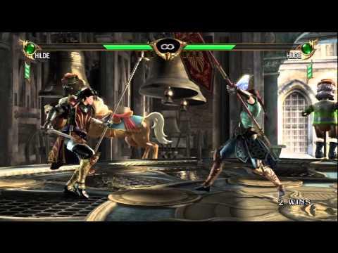 Soul Calibur 4: Offline Casuals - HeeeeresJonny86 (Hilde) v.  !!A1DZ!! (Hilde) |