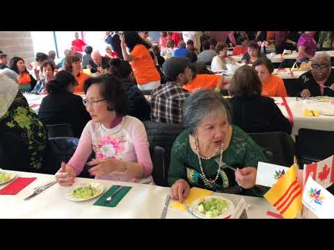The Republic Vietnamese had taken part in the Senior Annual Lunch in Mississauga 2017
