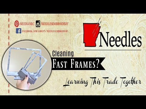 Do I Clean your Fast Framed before the next use? | Needles Embroidery | Quick Tips