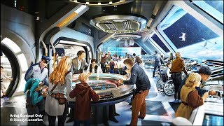 NEW Star Wars Hotel animated concept art for Walt Disney World