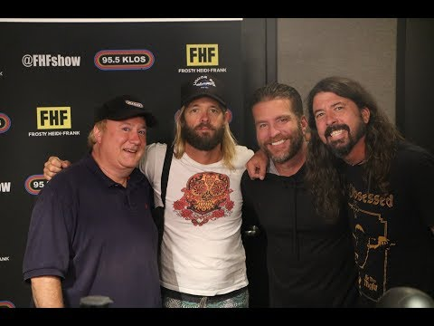 Dave Grohl and Taylor Hawkins in-studio on FHF