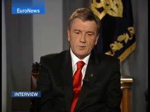 EuroNews - DE - Interview - Präsident Juschtschenko