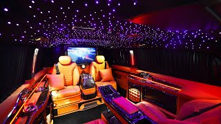 Top 10 Most Luxurious Custom Made Car Interiors in the World