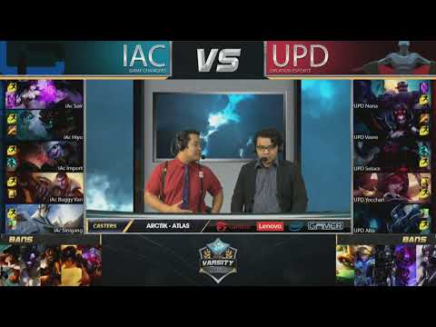 Thumbnail: 2017 Lol Varsity League Summer | Week 2 | IAC vs UPD Game 1/2