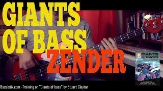 Bassistik cours de basse - Jamiroquai/ Stuart Zender style