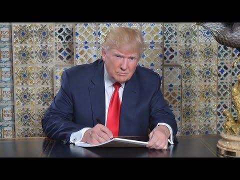 Trump's Laughable Speechwriting Tweet