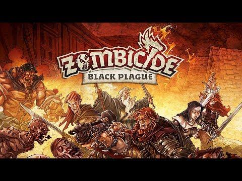 Настольная игра Зомбицид: Чёрная чума (Zombicide: Black Plague)