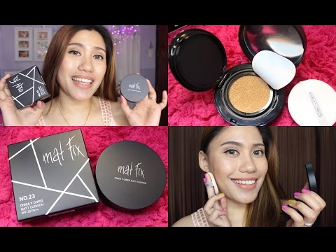 CHICA Y CHICO MATT CUSHION (Mat fix) REVIEW | Purpleheiress