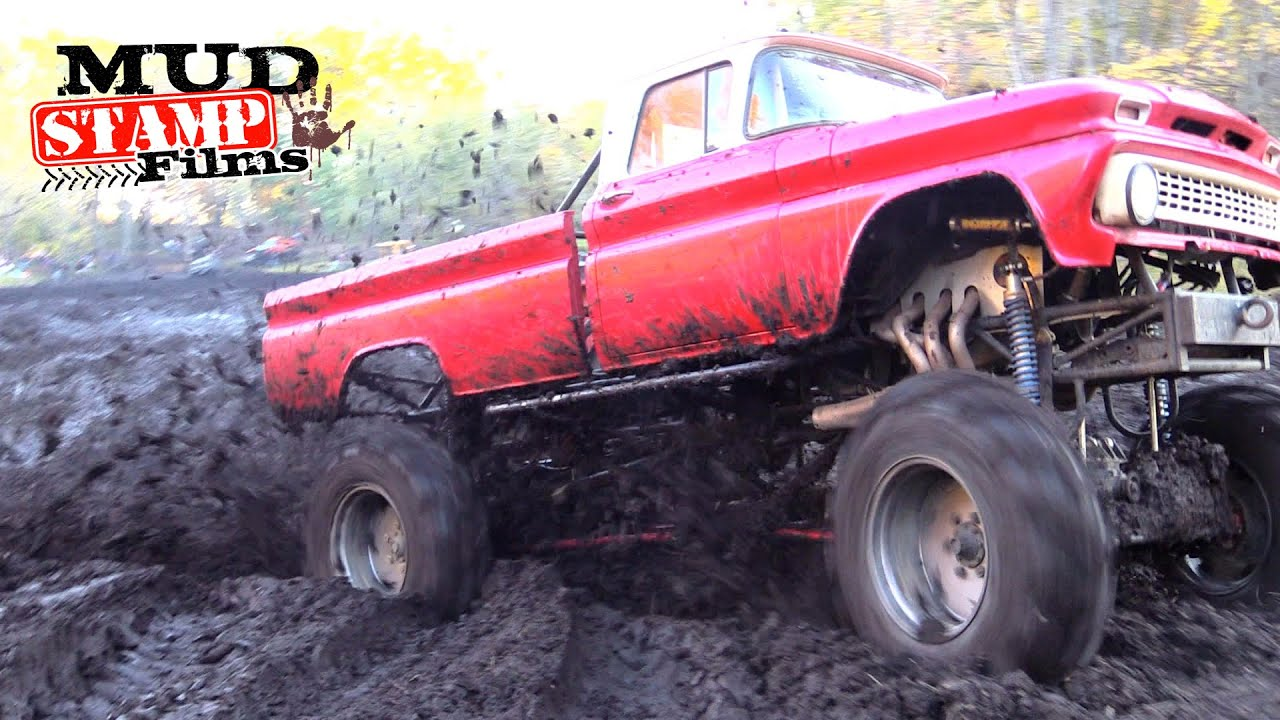 63 Chevy On Tractor Tires Youtube