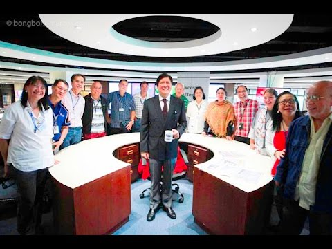 Sen. Bongbong Marcos - Round Table Discussion with Editors of Manila Bulletin