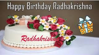 Happy Birthday Radhakrishna Image Wishes✔