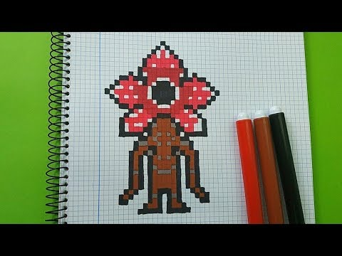how-to-draw-demogorgon-from-stranger-things-|-pixel-art