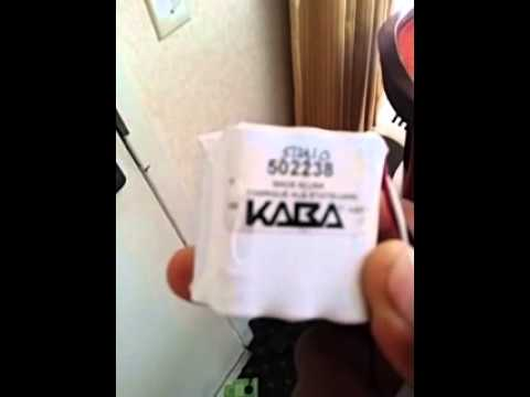 How To Reprogram Garage Door Opener >> How to change battery in kaba key card reader - YouTube