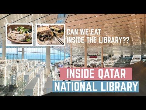 EXPLORING QATAR NATIONAL LIBRARY || Secret Ingredient