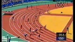 Claudio Roberto Sousa   Olimpiada de Sidney 2000   eliminatória 4x100m