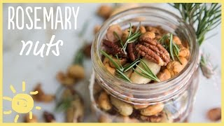 EAT  Rosemary Nuts (perfect Thanksgiving Hostess Gift!)