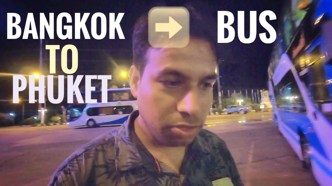 Bangkok To Phuket By luxury Bus | हिंदी  मे Cheapest way to travel Bangkok To Phuket Full Guide