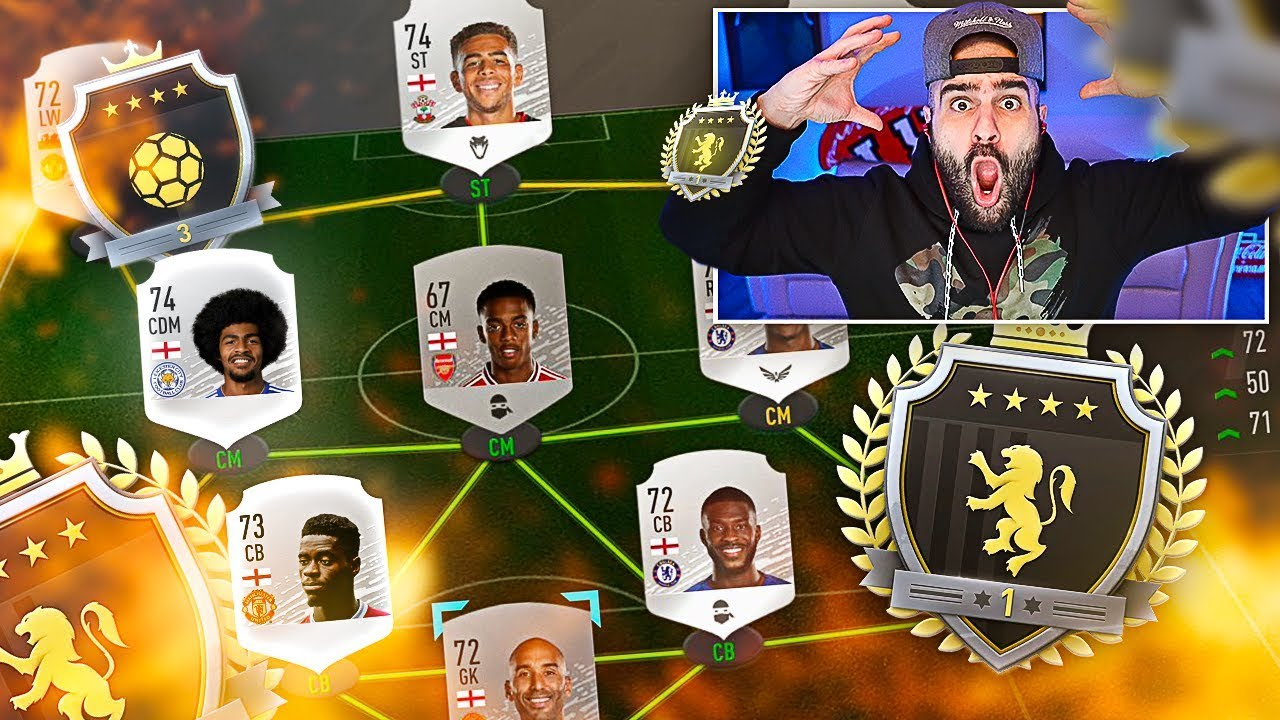 WOW! I GOT ELITE WITH A SILVER TEAM! FIFA 20 Ultimate Team Fut Champions thumbnail