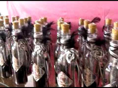 de boda en botella