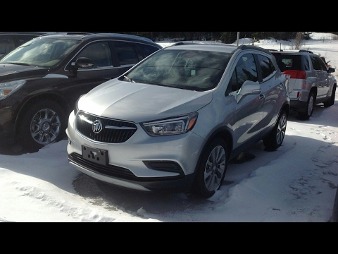 2017 Buick Encore Preferred Start Up, Full Tour and Review