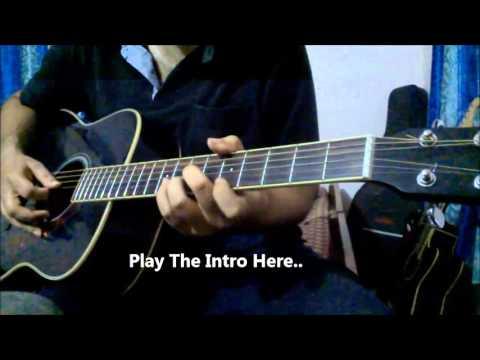Sab Tera Guitar Lesson (Complete)   Armaan Malik   Baaghi