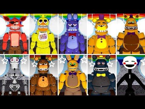 PLAY AS ALL ROBLOX ANIMATRONICS! Fredbear and Friends