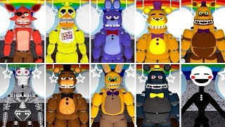 - PLAY AS ALL ROBLOX ANIMATRONICS Fredbear and Friends