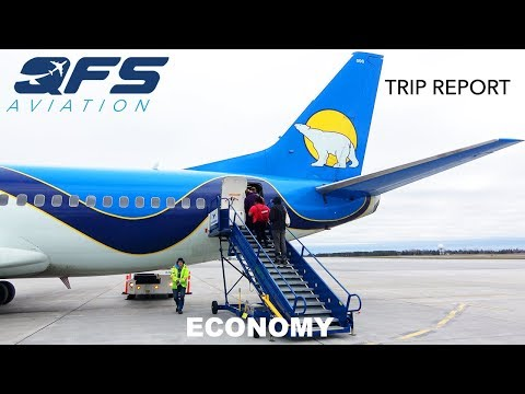 TRIP REPORT | Canadian North Airlines - 737 300 - Ottawa (YOW) to Iqaluit (YFB) | Economy