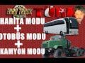 Euro Truck Simulator 2 Türkçe   Harita Modu - Kamyon Modu - Otobüs Modu mp3 indir