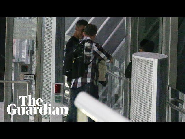 Freed Hakeem al-Araibi boards plane leaving Thailand for Australia