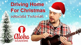 Driving Home For Christmas | Ukulele Tutorial (deutsch) | Chris Rea
