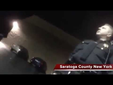 REPORT: Cop threatens citizen into search in Saratoga county New York