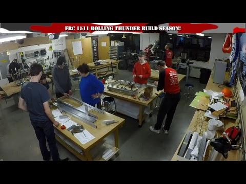 Build Season   FIRST 1511 Rolling Thunder   DESTINATION: DEEP SPACE