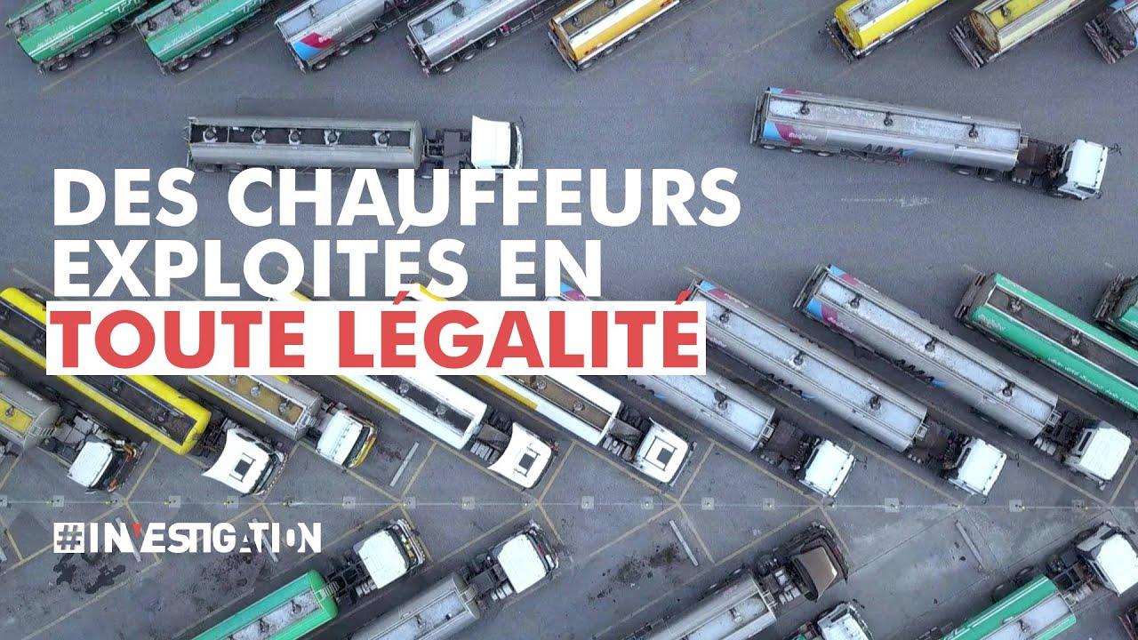 Download Chauffeurs de poids lourds des pays de l'Est, des esclaves de la route ? | #Investigation