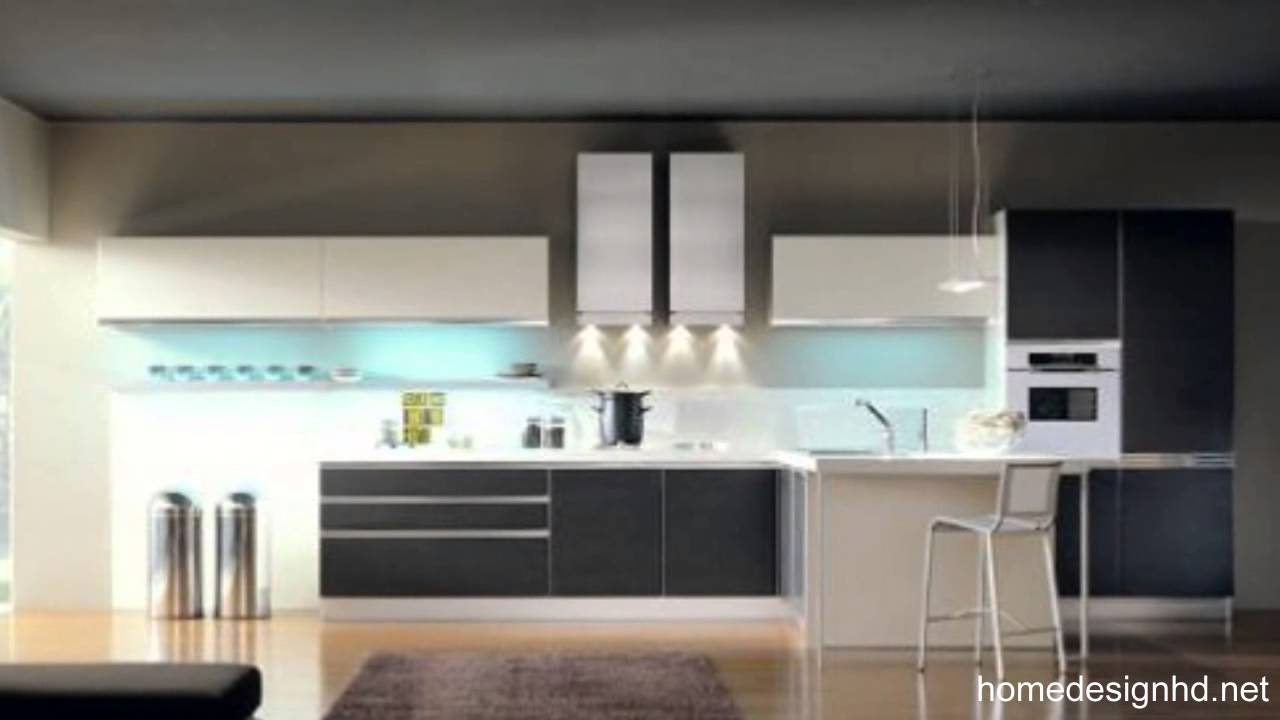 Black kitchen cabinets latest furniture and interior for Latest interior design