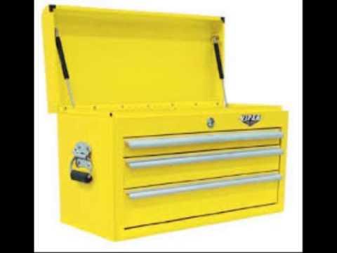 Viper Tool Storage V2606BLR 26 Inch 6 Drawer 18G Steel Rolling Tool Cabinet  Black
