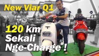 Viar Q1 2019 : Sekali Nge-charge Untuk 120 Km   Tmcblog #1209