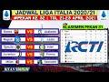 Jadwal Liga italia Pekan 32 | Juventus vs Parma | Klasemen Serie A 2021 Terbaru | Live Rcti